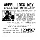 Gorilla Automotive 73633T The System Toyota Mag Wheel Locks With Washers