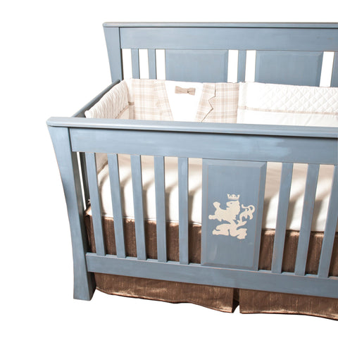 Baby Boy Silk Crib Skirt