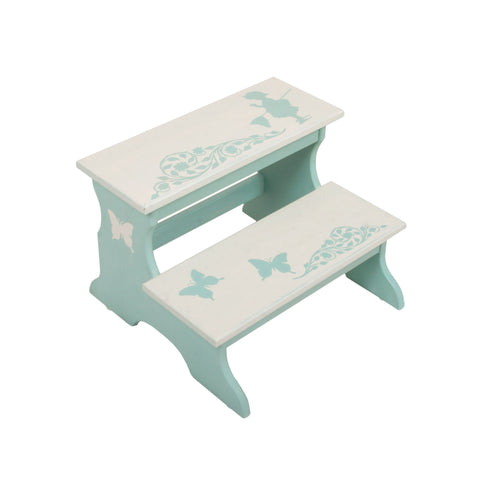 Butterfly Two Step Stool for Kids