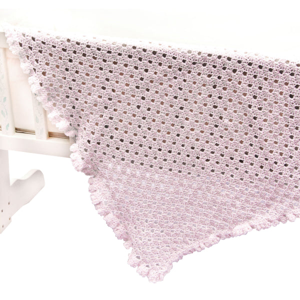 Cotton Lace Baby Blanket Crochet