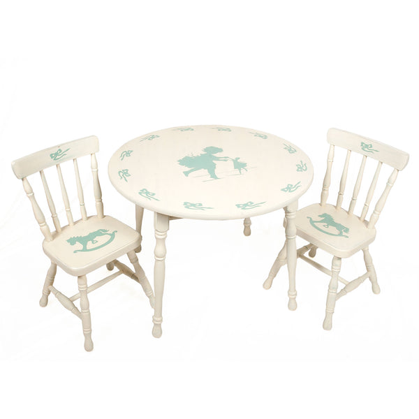 Dance Play Table and 2 Chair Set