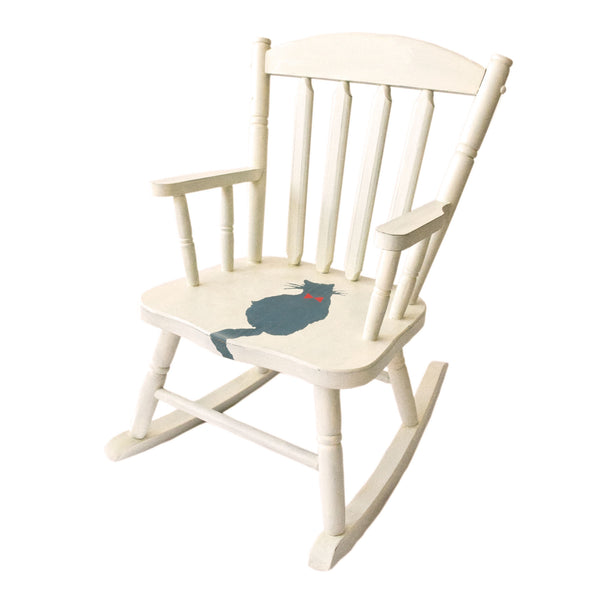 Kitten Rocking Chair for Kids