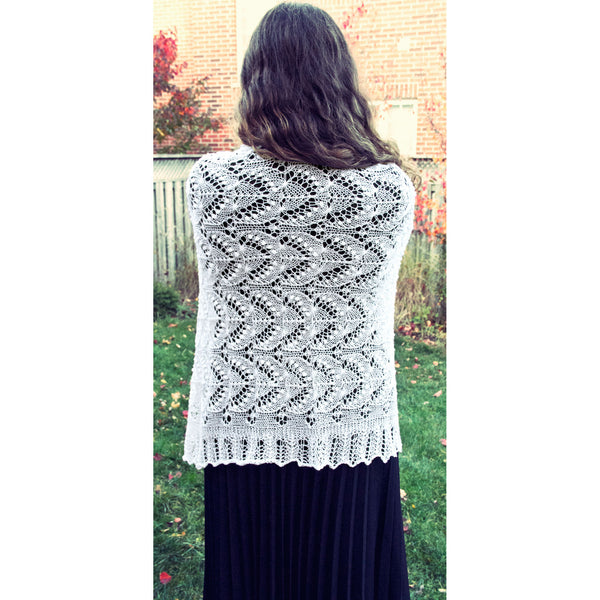 Queen Lace Shawl
