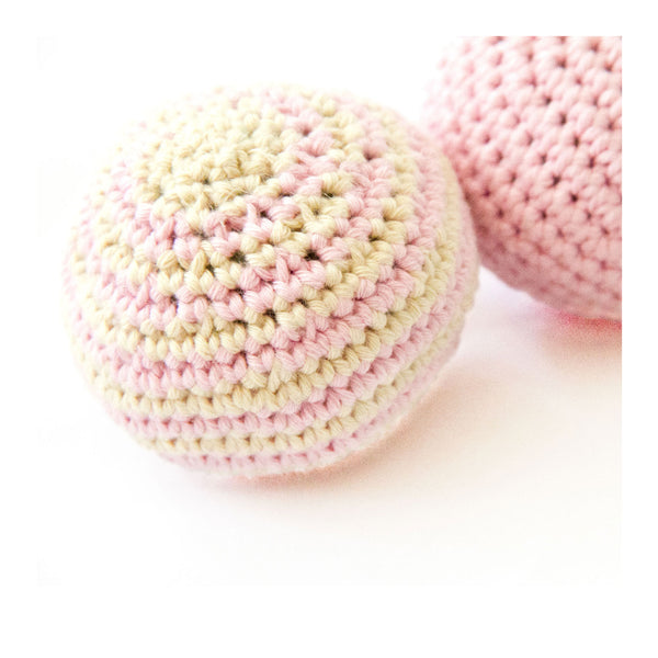Organic Baby Rattle Toy - Squishi Ball