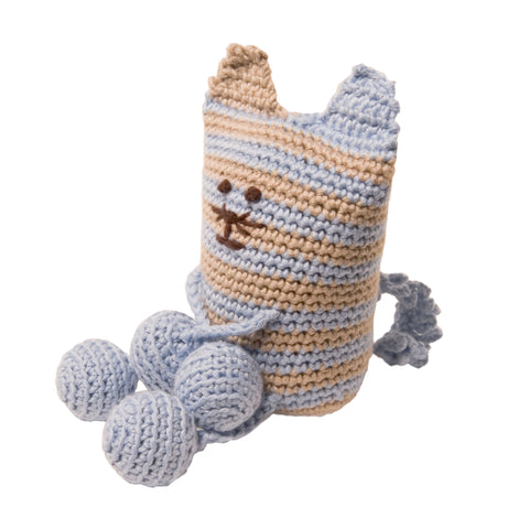 Organic Baby Toy - Squishi Cat