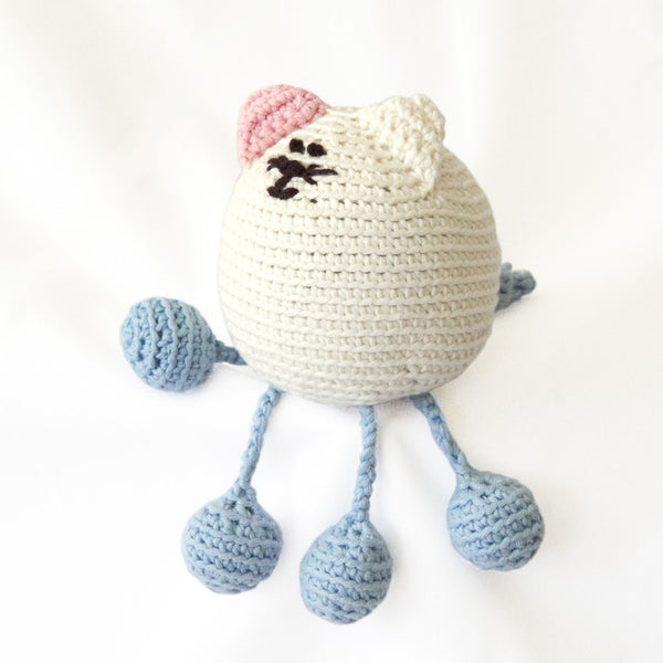 Organic Baby Toy - Squishi Kitty