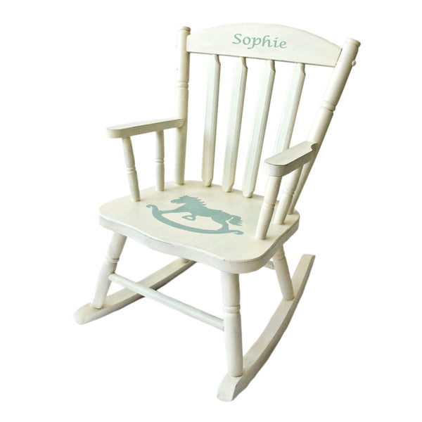 Personalized Gift - Horsy Kids Rocking Chair