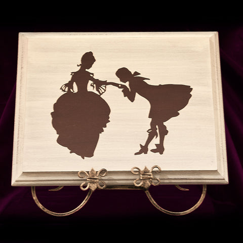Wall Picture, Silhouette of Fairytale Ball