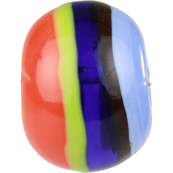 Multicolored striped bead 2