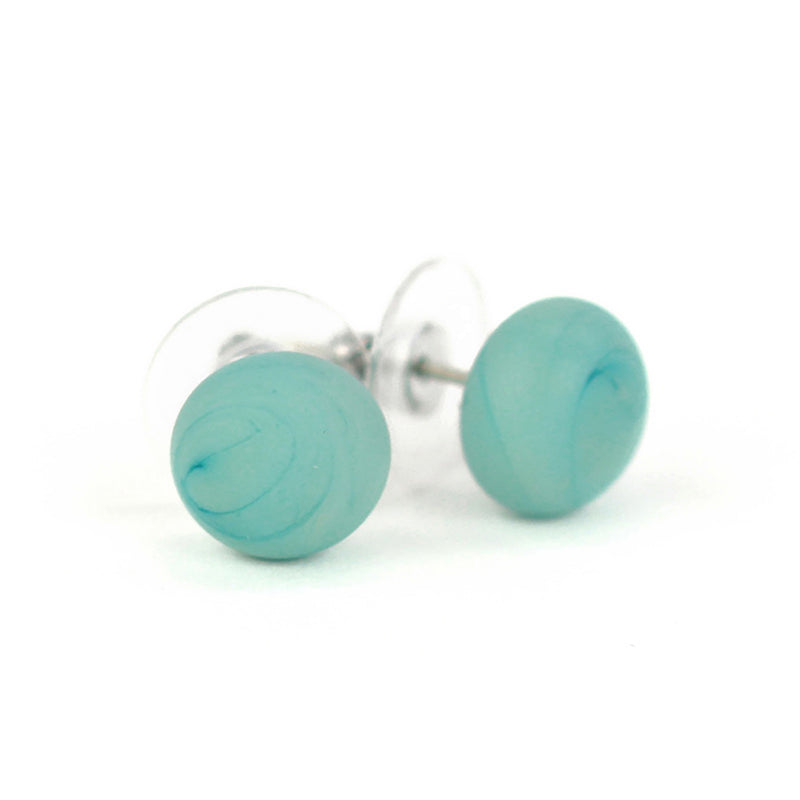 Small studs -soft blue
