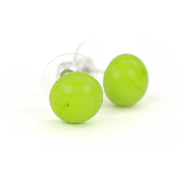 Small studs -bright green