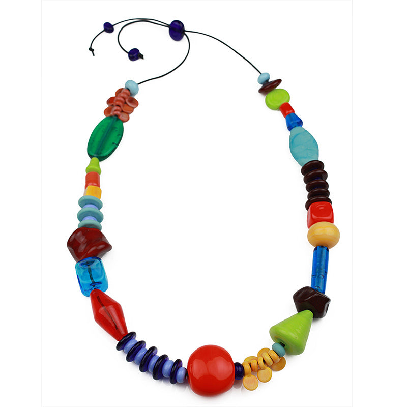 Frolic necklace - multi-colors