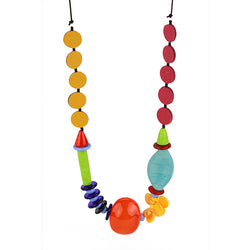 Frolic 2 necklace in multi color