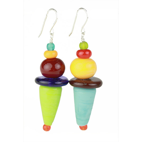 Frolic earrings - multi-colors