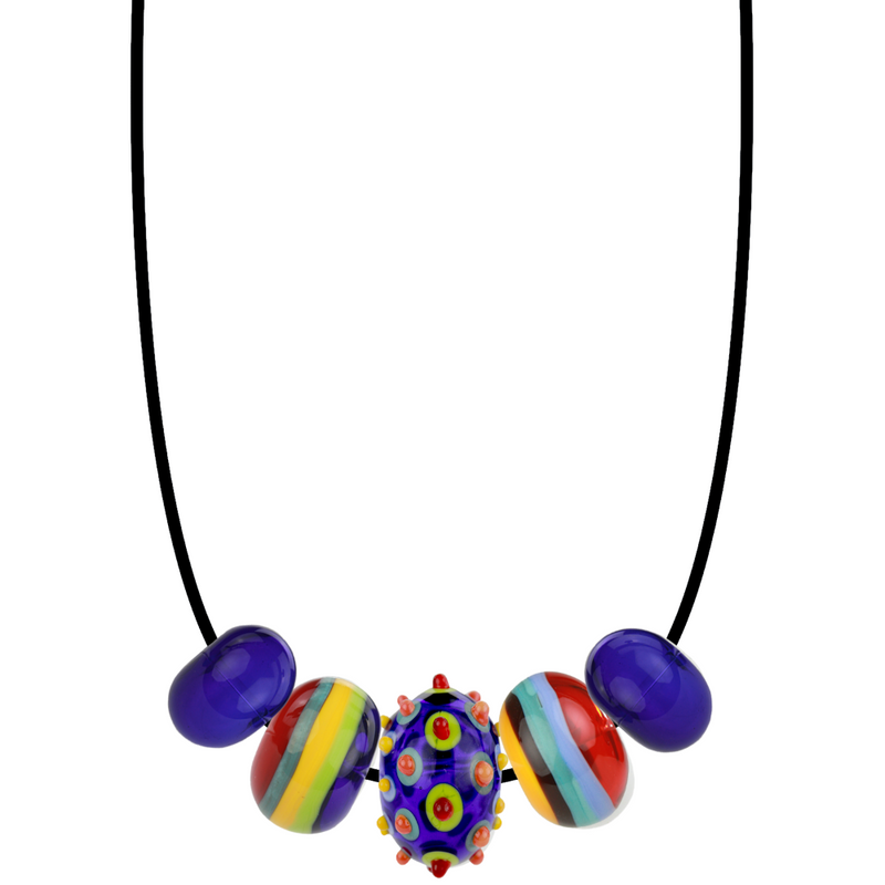 5 bead necklace - Customer's Product with price 215.00 ID AngE2YlLz15efNerw_39gVJb