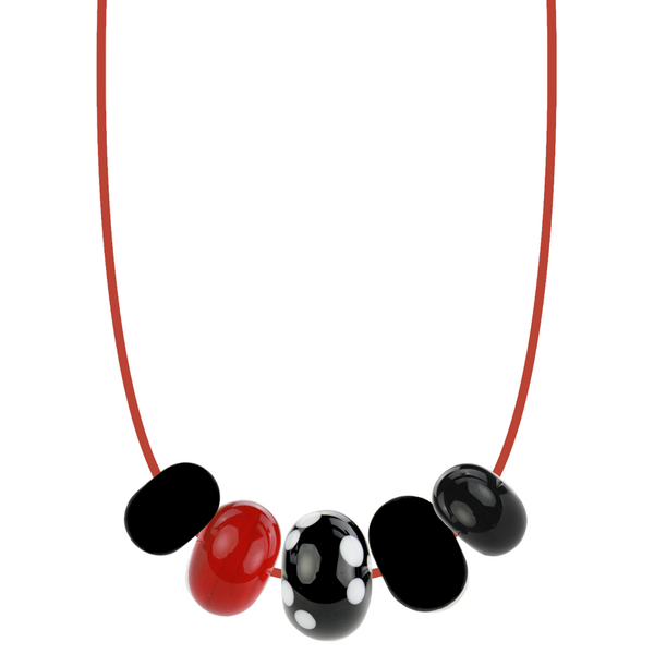 5 bead necklace - Customer's Product with price 145.00 ID DUOdUEPqhDvkznsPDwo-5NVG