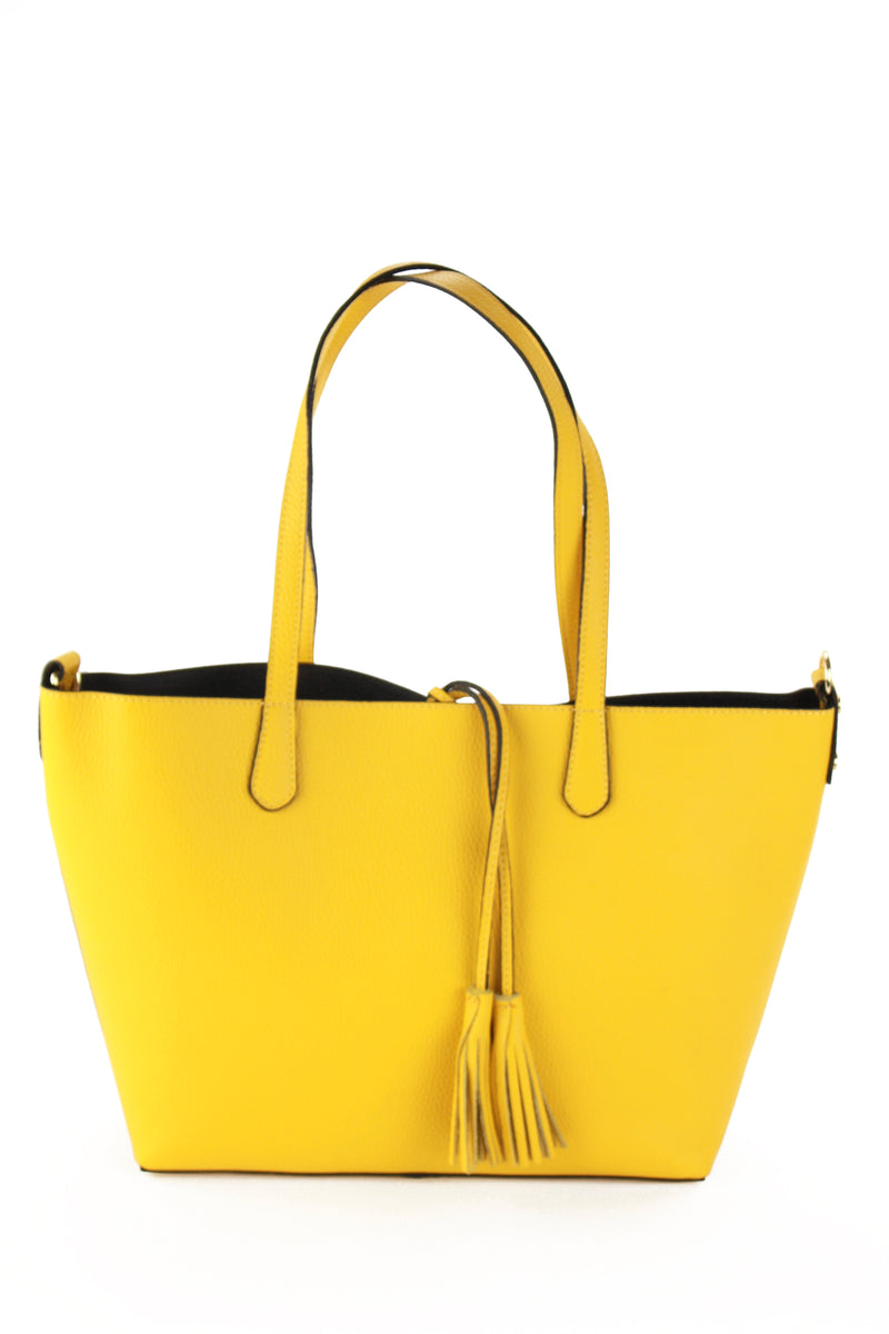 Belinda shopping bag in yellow