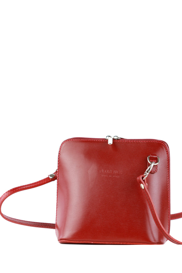 Dalida bag in dark red
