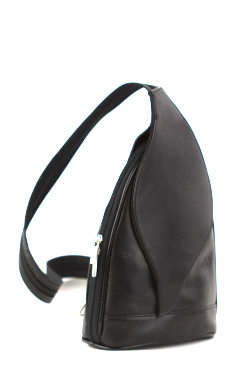 Foglia backpack in black