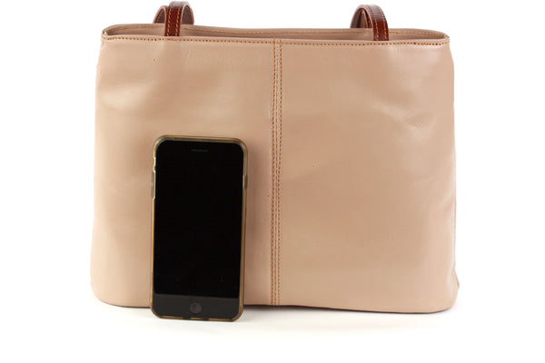 Ludovica handbag in tan