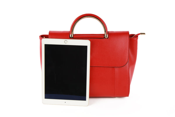 Melissa hand bag in red