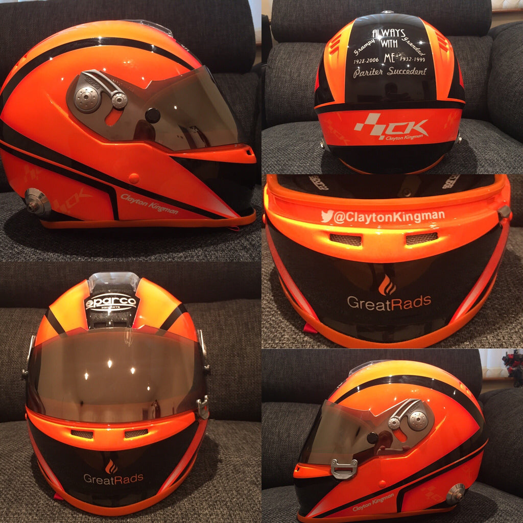 Clayton Kingman Helmet Great Rads