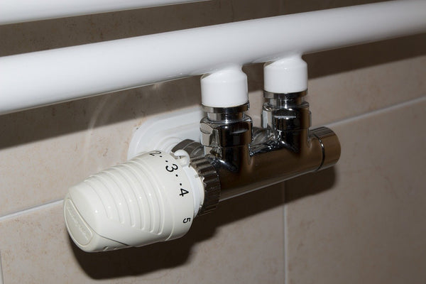 Newly fitted radiator valve