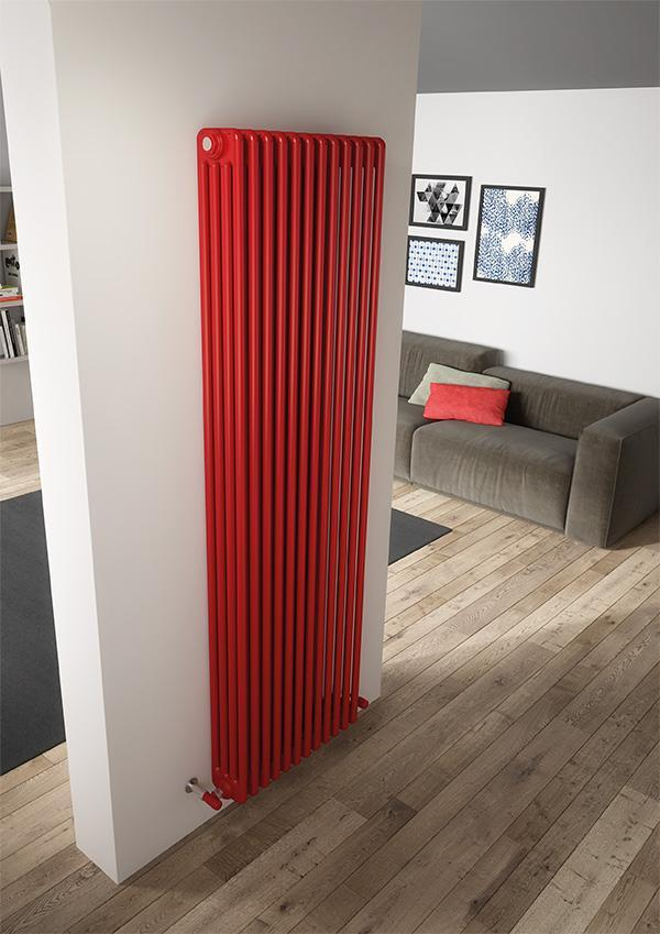 The Milan - 4 Column Radiator - Wall Mounted