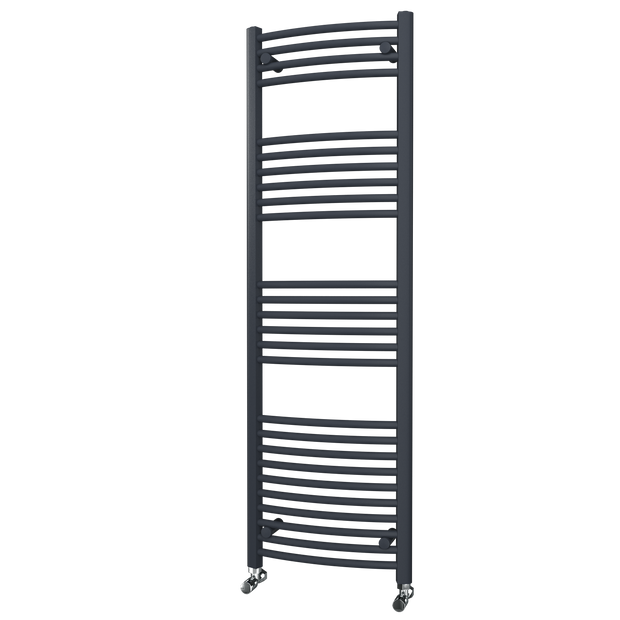 Trade Range - Anthracite Curved Towel Rail