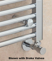 Supplies 4 Heat Argyll Curved Towel Radiator