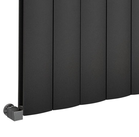 The Belgravia - Horizontal Aluminium Radiator - Anthracite