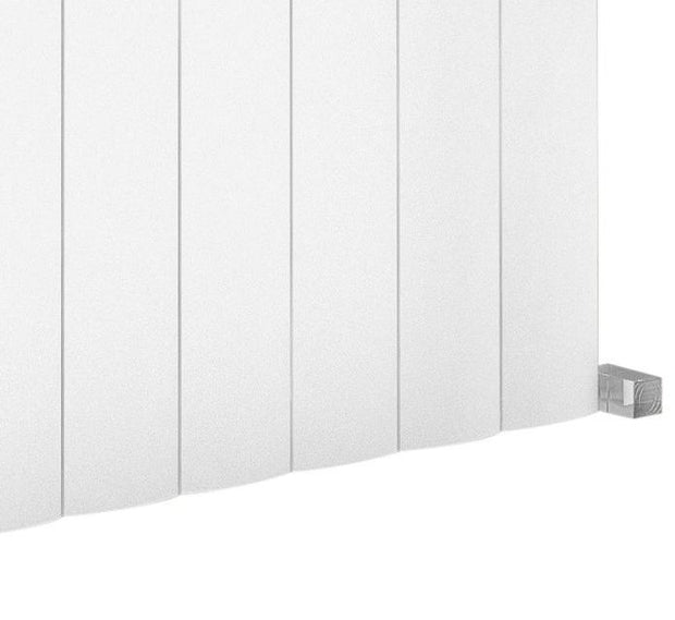 The Belgravia - Horizontal Aluminium Radiator - White