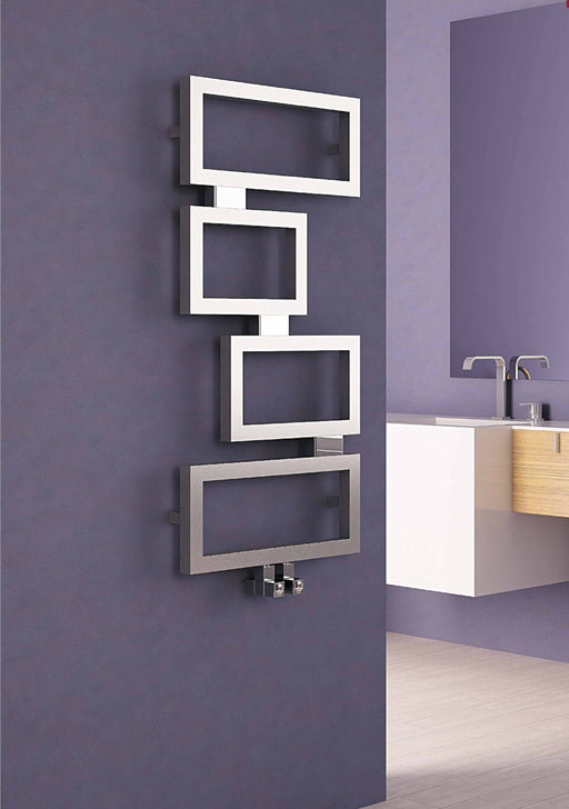 Carisa Clash Stainless Steel Towel Radiator