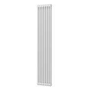 Trade Range - 2 Column Vertical Radiator - White