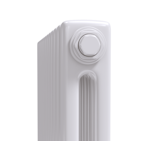Trade Range - 2 Column Radiator - White