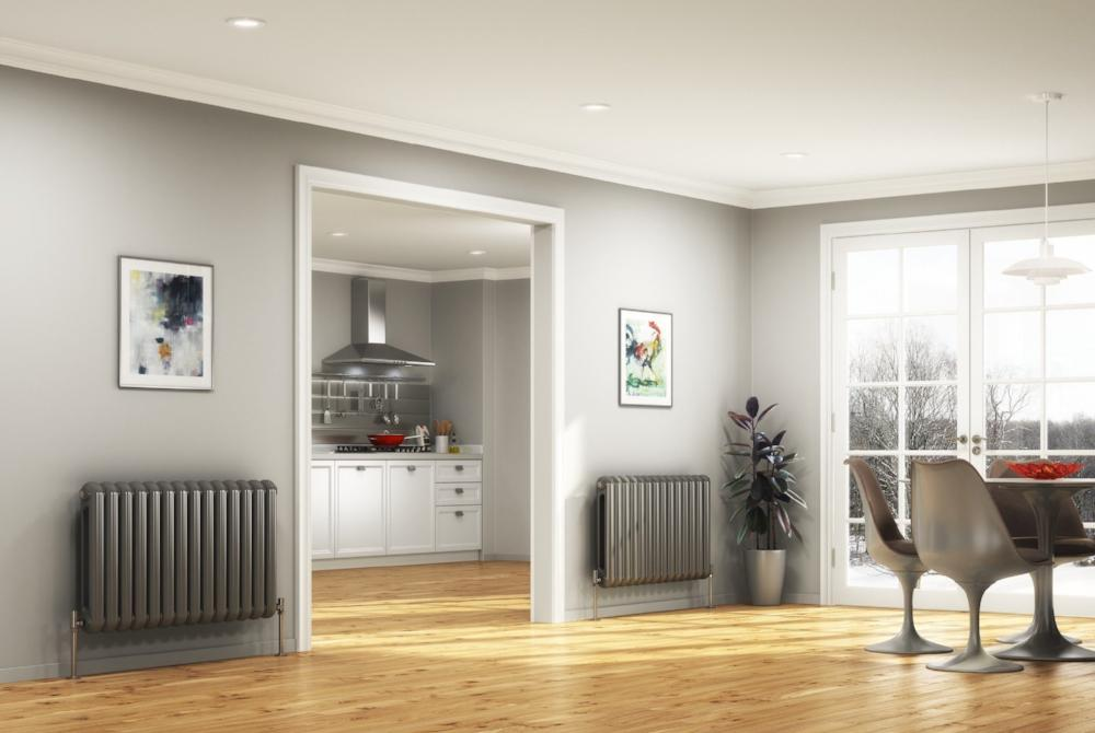 DQ Cassius Horizontal Designer Radiator — Great Rads Ltd.
