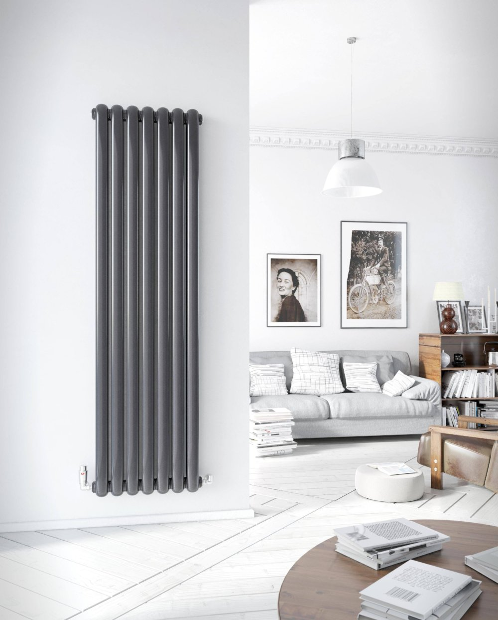 DQ Cassius Vertical Designer Radiator — Great Rads Ltd.