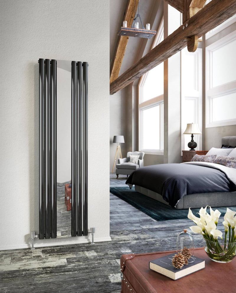 DQ Cove Designer Radiator with Mirror