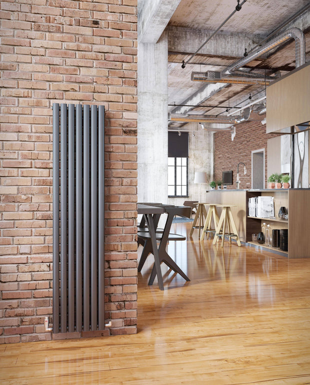 DQ Cove Mild Steel Vertical Designer Radiator