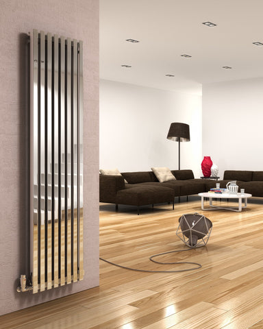 DQ Dune Vertical Stainless Steel Radiator