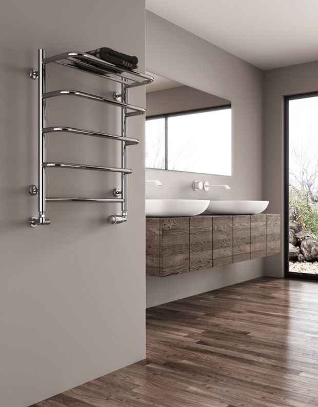 NEW Reina Elvo Stainless Steel Designer Towel Radiator