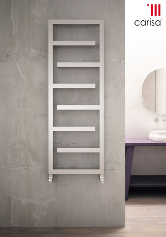 Carisa Eclipse Stainless Steel Towel Radiator - Towel Radiator - Great Rads Ltd.