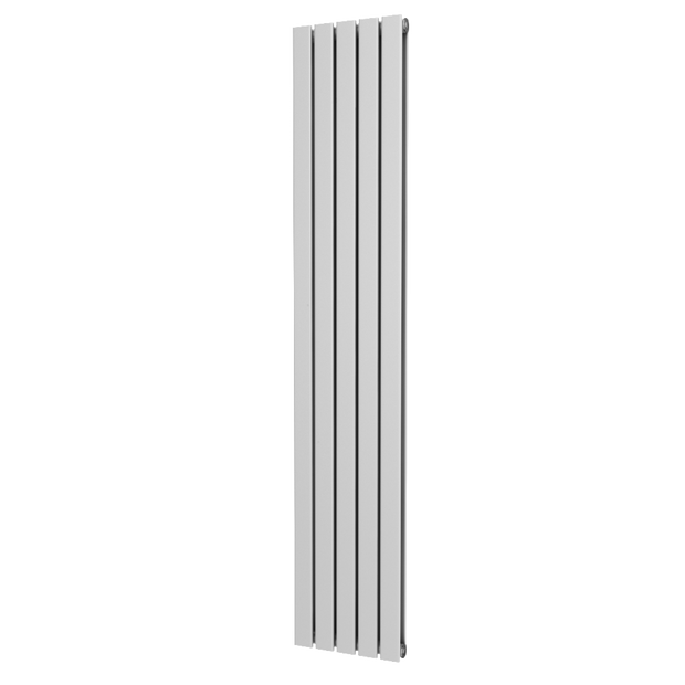 The Kensington - Double Flat Vertical Radiator - White