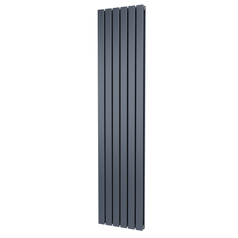 The Kensington - Double Flat Vertical Radiator - Anthracite
