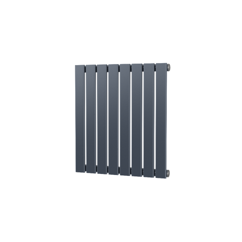 The Kensington - Single Flat Horizontal Radiator - Anthracite