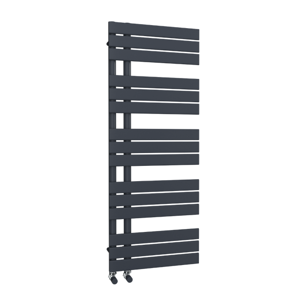 The Barnes - Designer Towel Rail - Anthracite