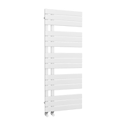 The Barnes - Designer Towel Rail - White