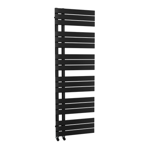 The Barnes - Designer Towel Rail - Black