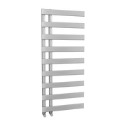 The Belgravia - Designer Towel Rail - Silver