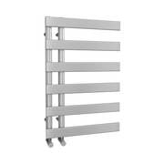 The Belgravia - Designer Towel Rail - White